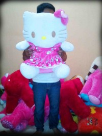 jual boneka hello kitty jumbo