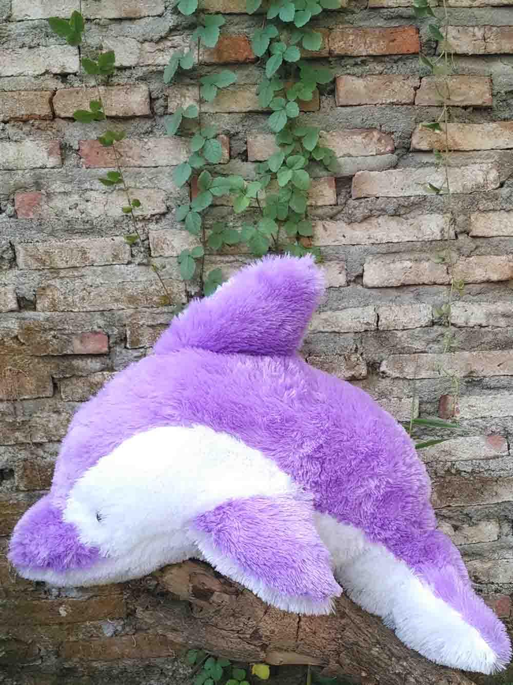 Jual Boneka Dolphin Warna Ungu Ukuran Sedang Harga Murah 4cd95072e5