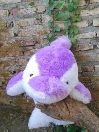 Jual Boneka Dolphin Jumbo Ungu