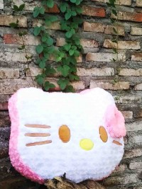 Jual Boneka Kepala Hello Kitty Besar Pink