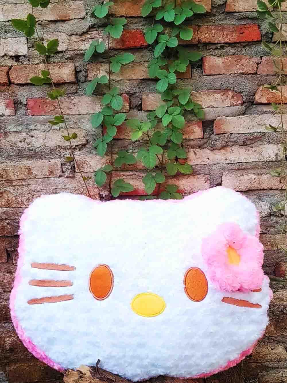 Jual Boneka Kepala Hello Kitty Jumbo Lucu Dan Menggemaskan 1
