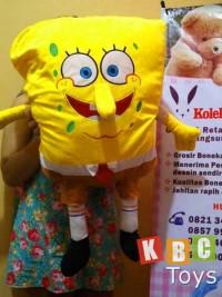 Jual Boneka Spongebob jumbo semarang, boneka sponge bob besar