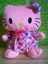 Jual Boneka hello kitty pink sedang1