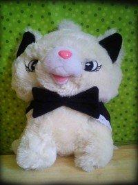 jual boneka cat marry hitam putih