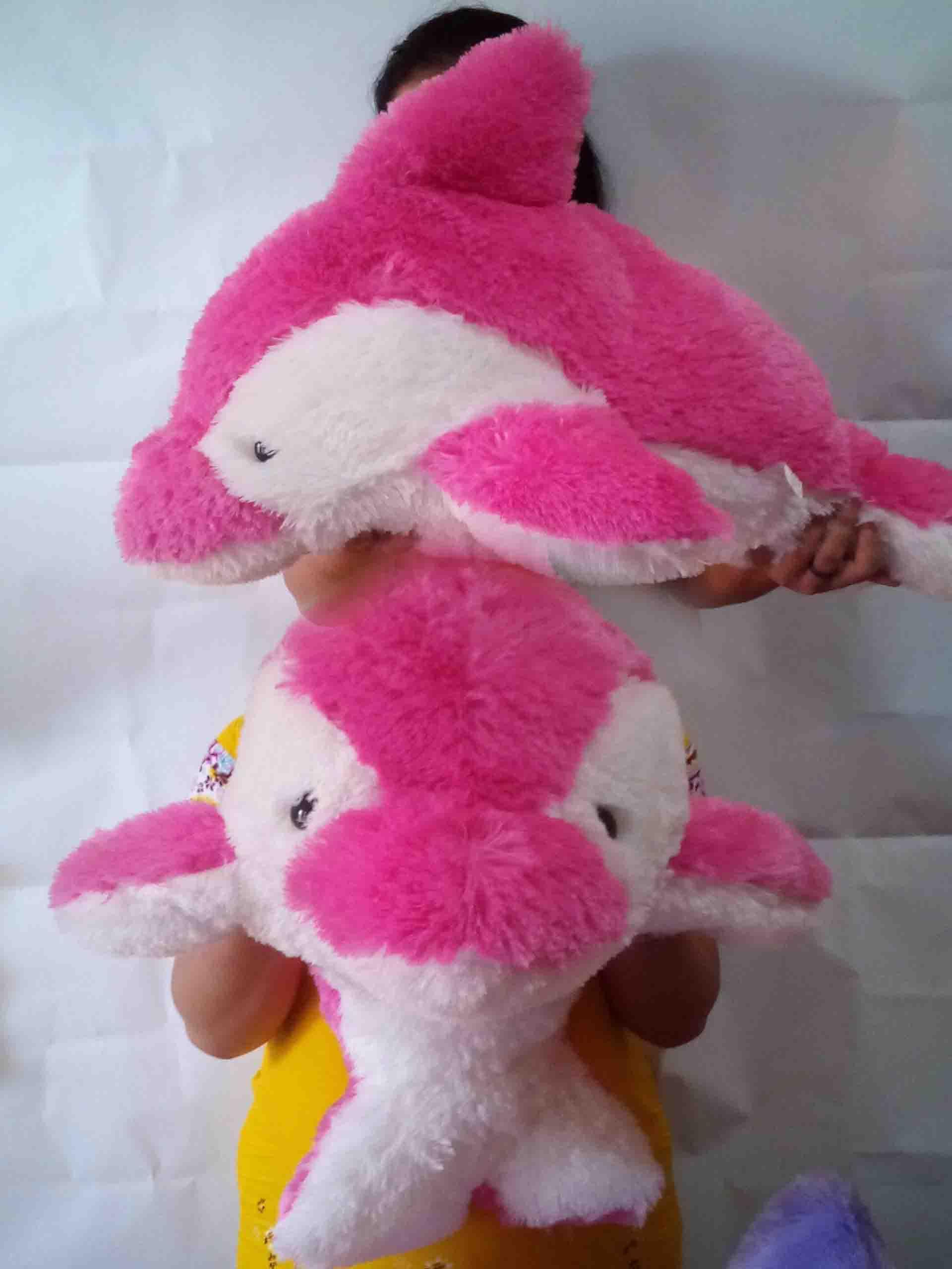 Jual Boneka Dolphin Warna Pink Ukuran Sedang 11839b3365