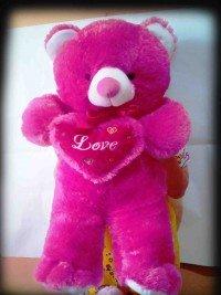 jual boneka teddy bear jumbo warna pink