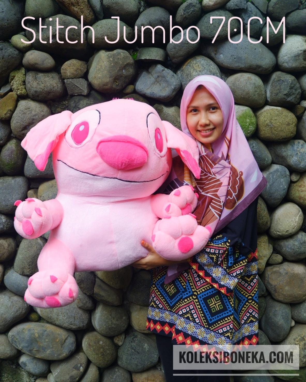 Jual Boneka Stitch Jumbo Dengan Ukuran Besar Yang Lucu ee4a53988b