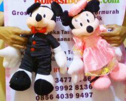 jual boneka pengantin mikey dan minnie