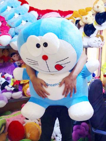 Jual Boneka Doraemon Besar Murah Ukuran 1 Meter