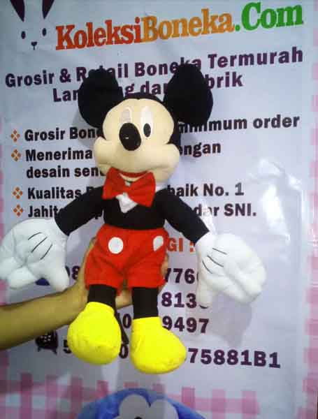 Jual Boneka Mickey Mouse Murah Ukuran 50 CM ... 39bf1e8f7c