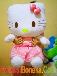 jual boneka hello kitty jumbo pink