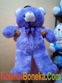 jual boneka teddy bear ukuran 1 meter warna ungu