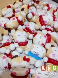 souvenir boneka lucu mini untuk perusahaan