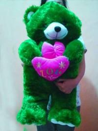 Boneka Teddy Bear hijau tua