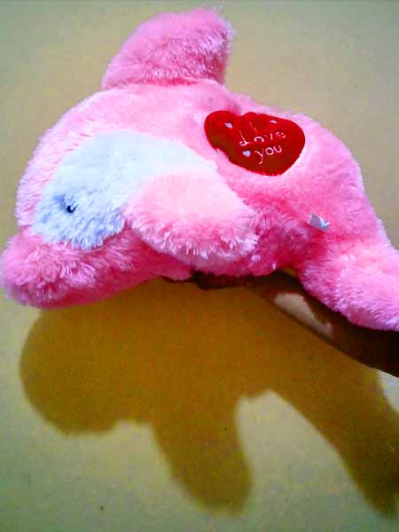 jual Boneka dolphin warna Pink ece4973794
