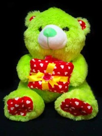 jual boneka teddy bear warna hijau muda