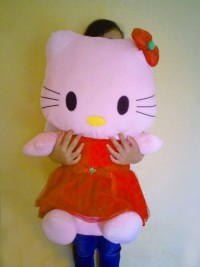 jual Boneka hello kitty ukuran 1 meter