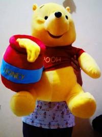 jual boneka winnie the pooh jumbo murah