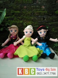 Jual Boneka Frozen Ana, Elsa, Sovia