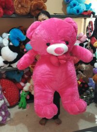 Boneka Teddy Bear Giant Warna Pink