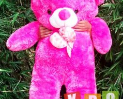 Boneka teddy bear besar warna pink muda