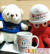 Souvenir Boneka Teddy Bear Bank