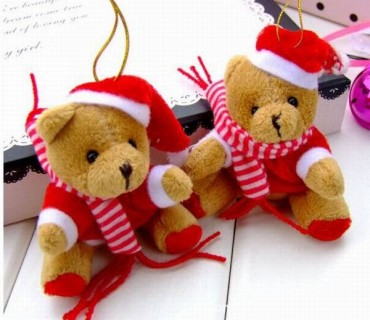 boneka natal teddy bear