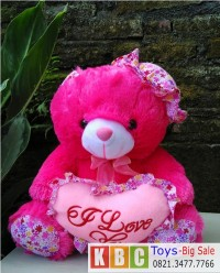 boneka-teddy-bear-30-cm-warna-pink