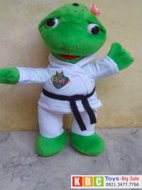 boneka maskot karate