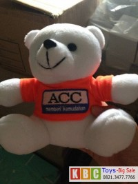 souvenir boneka teddy bear ukuran 25 cm