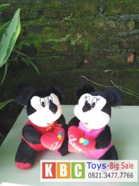 Boneka Mickey dan Minnie Love Sepasang