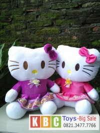 Jual Boneka Hello Kitty Dress Ukuran Xl