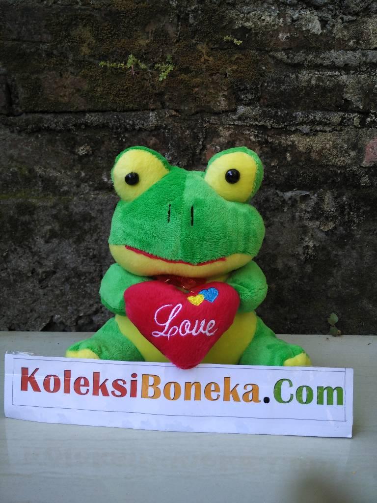 Boneka Keropi Love Ukuran 25 CM e273d93011