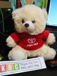 souvenir boneka teddy bear dealer mobil toyota