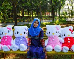 Boneka Hello Kitty Snail Jumbo (1)