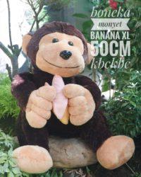 Boneka-Monyet-banana-XL