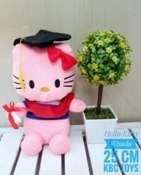 Boneka Hello Kitty Wisuda