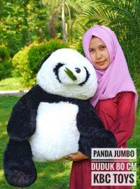 Boneka Panda Jumbo Duduk