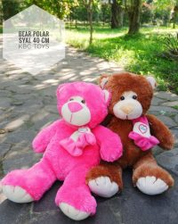 Teddy Bear Polar Syal