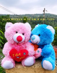 Boneka Teddy Bear Bianka M