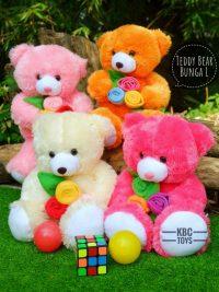 Boneka Teddy Bear Bunga L
