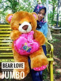 BEAR LOVE JUMBO PRINT