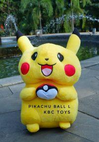 boneka pikachu ball L