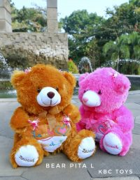 boneka teddy bear pita L