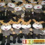 Pengrajin Boneka Maskot Kepolisian