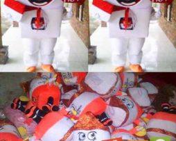pengrajin boneka maskot KPU