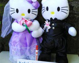 jual boneka pengantin hello kitty kbc toys