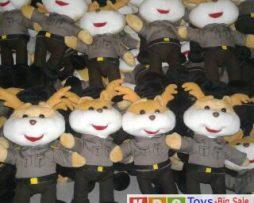 maskot boneka polisi