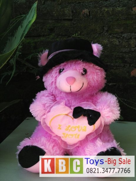 Boneka Teddy Bear Topi Koboi