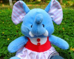 Boneka Gajah Dress